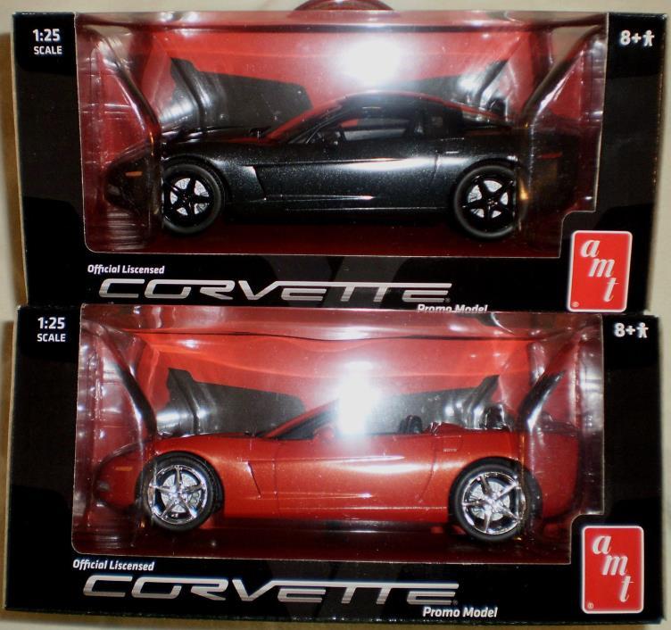2012 AMT Corvette Coupe & Convertible Promo (2-Car Set)