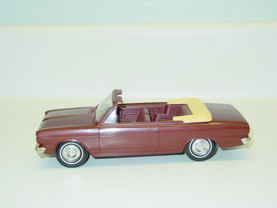 Vintage Plastic 1964 Rambler Convertible Friction Dealer Promo Car, Toy Vehicle