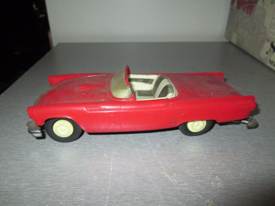 Vintage 1957 Ford Thunderbird AMT Promotional Friction Car 7
