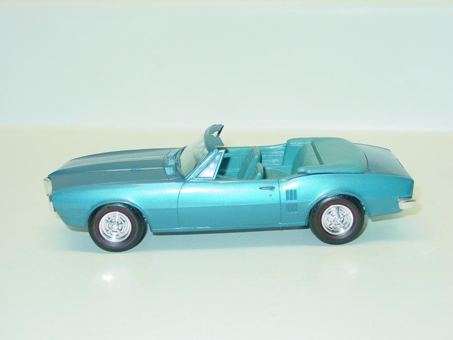 Vintage Plastic 1967 Pontiac Firebird Convertible Dealer Promo Car, Toy Vehicle