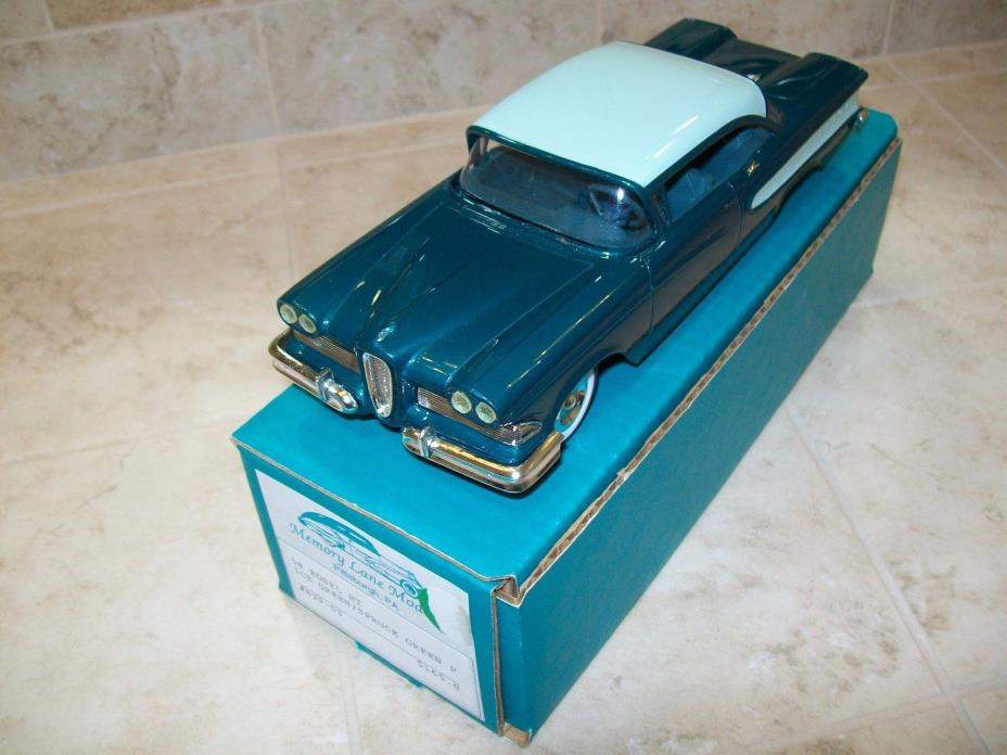 Memory Lane 1958 Edsel resin model
