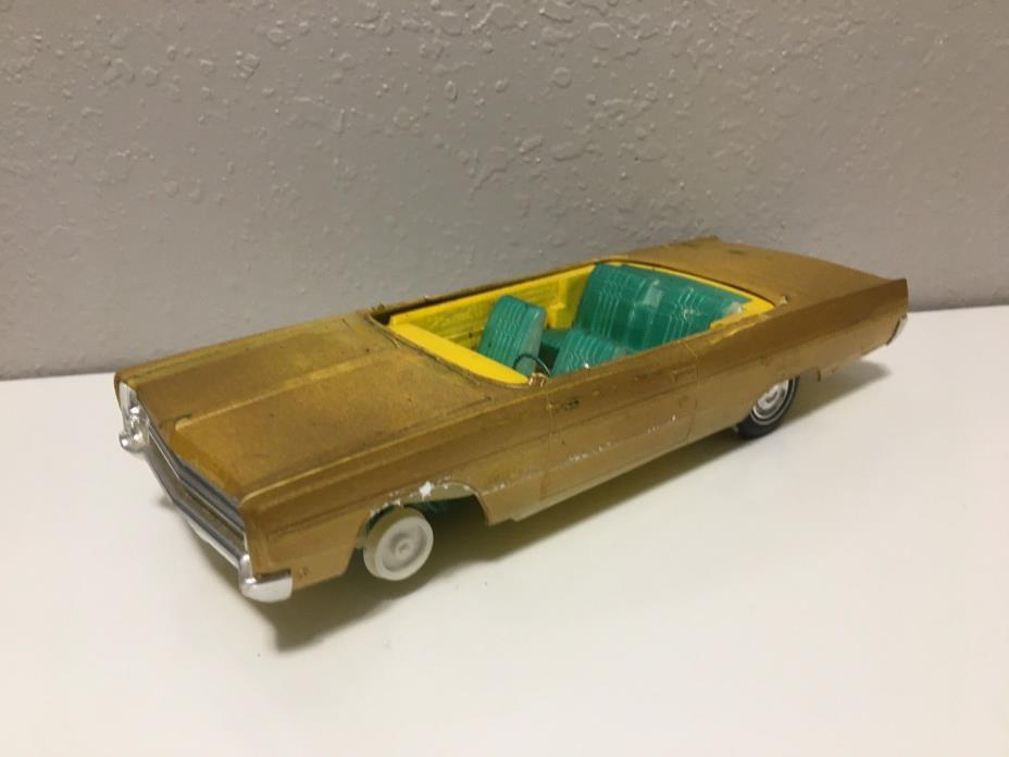 Rare Vintage JO-HAN 1968 Plymouth Fury III Model 1:25 scale HARD TO FIND