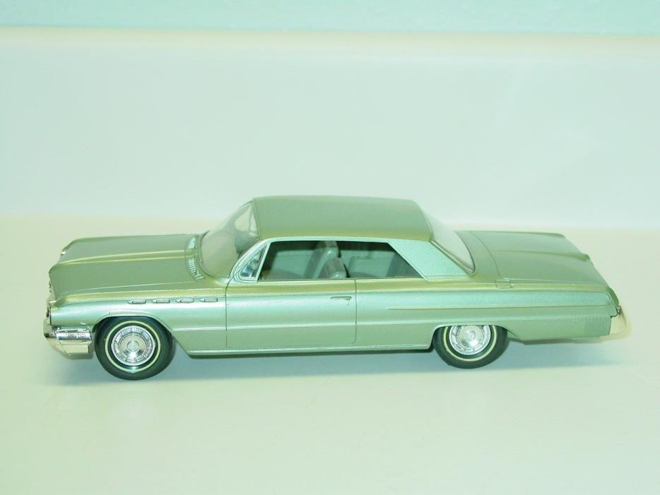 Vintage Plastic 1962 Buick Electra 225 Dealer Promo Car, Toy Vehicle, Friction