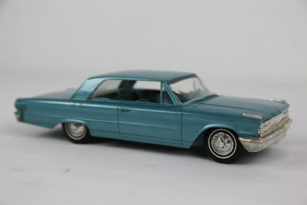 Vintage AMT 1963 Ford Fairlane Promo Dealer Model Car