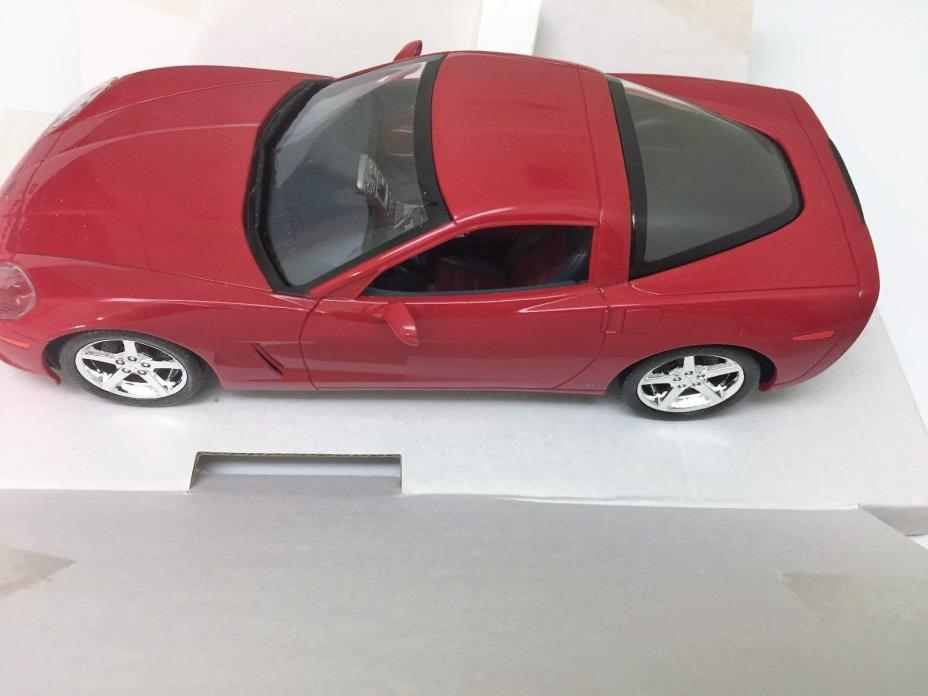 Revell - 2007 Chevy Corvette Coupe 1:25 Scale Promo - Red