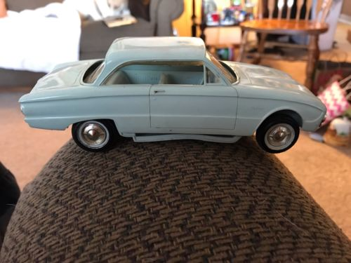 Vintage 1960  FORD FALCON PROMO Blue 2 Door Toy Car Model