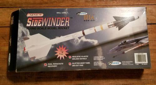 Classic Estes #2125 AIM-9 SideWinder Beta Series  Flying Model Rocket Mint