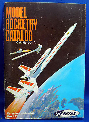 Vintage Estes Model Rocketry Catalog 701 - 1970 Rockets Parts Prices