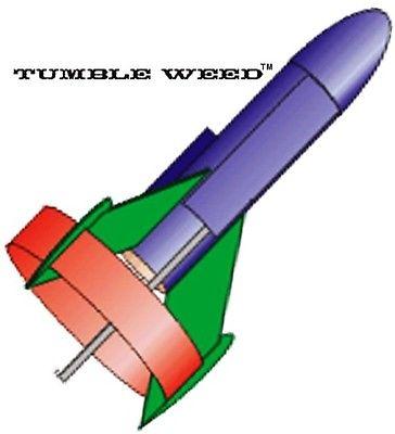FlisKits Flying Model Rocket Kit Tumbleweed  SP002