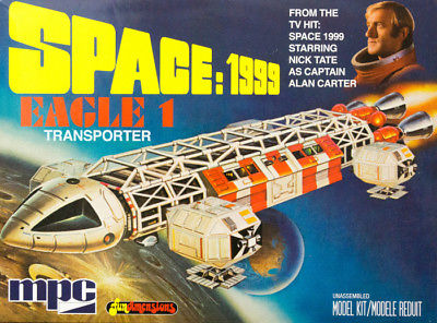 MPC Space:1999 Eagle 1 Transporter Model Kit with ParaGrafix Photoetch Set MIB