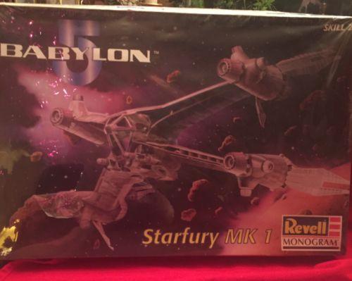 Babylon 5 Starfury Mk 1 By Revell 1:72 Scale Model NEW  Skill Level 2 1997