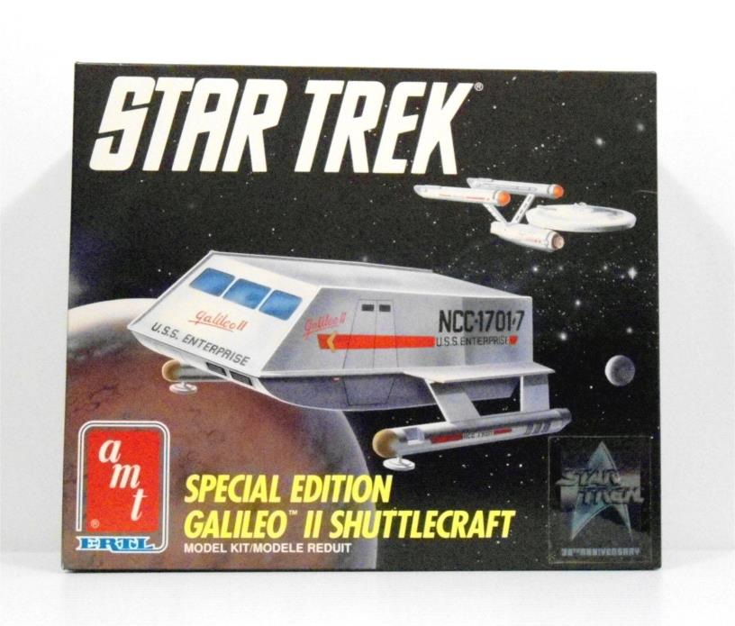 AMT ERTL Star Trek Special Edition Galileo II Shuttlecraft Plastic Kit #6006U