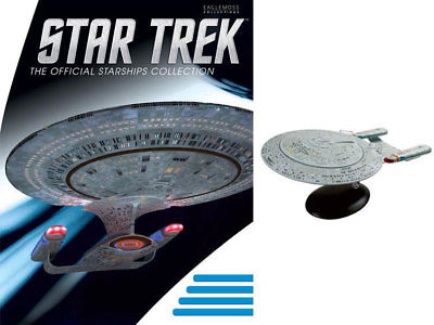 Star Trek Starships Collection Special Edition Mega Enterprise NCC1701D 18TEM111