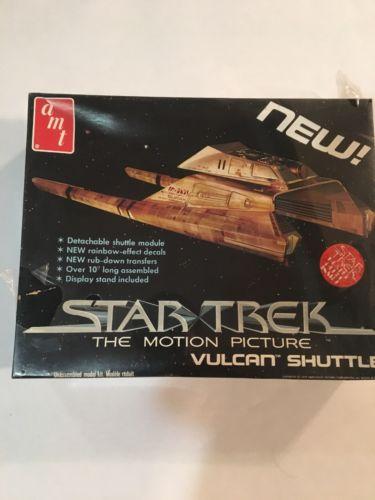 Star Trek VULCAN SHUTTLE Model Kit Vintage 1979 AMT