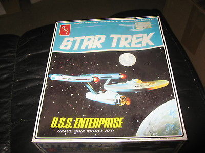 Star Trek U.S.S. Enterprise - sealed - AMt - 1960s