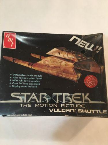Star Trek VULCAN SHUTTLE Model Kit Vintage 1979 AMT Unopened