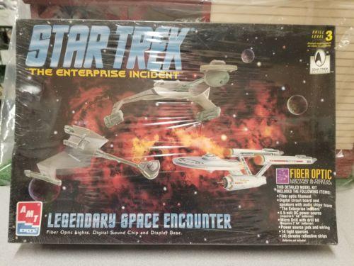 Star Trek LEGENDARY SPACE ENCOUNTER--*Enterprise Incident* FIBER OPTIC LIGHTS