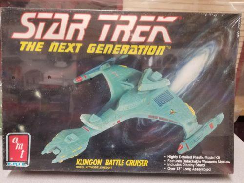 AMT Star Trek The Nexg Generation KLINGON BATTLE CRUISER  FACTORY? SEALED model