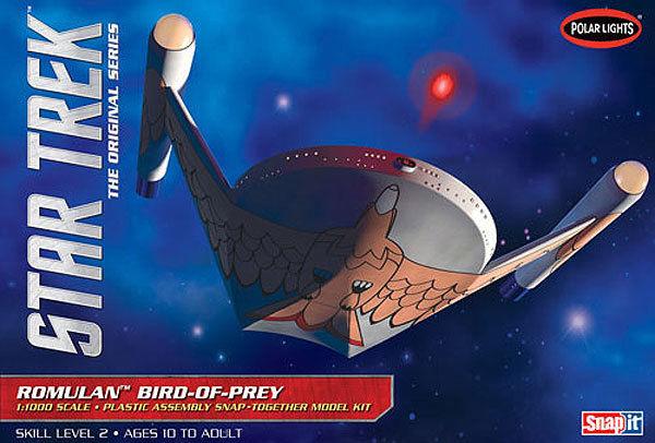 Polar Lights 1:1000 Star Trek Romulan Bird of Prey Model Kit PLL934 POL934