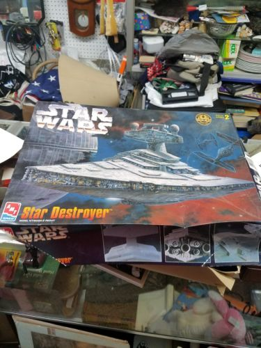 VINTAGE 1997 STAR WARS STAR DESTROYER AMT/ERTL MODEL KIT