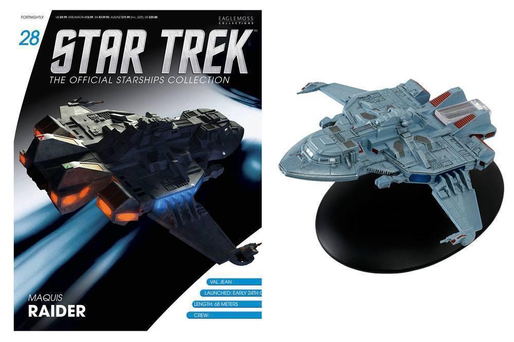 MAQUIS RAIDER #28 Eaglemoss Starships Magazine & Figure