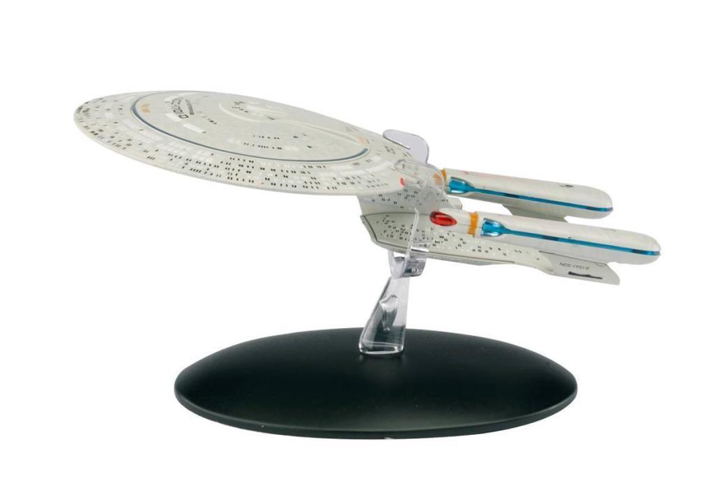 USS ENTERPRISE NCC-1701D #1 Eaglemoss Starships Magazine & Figure