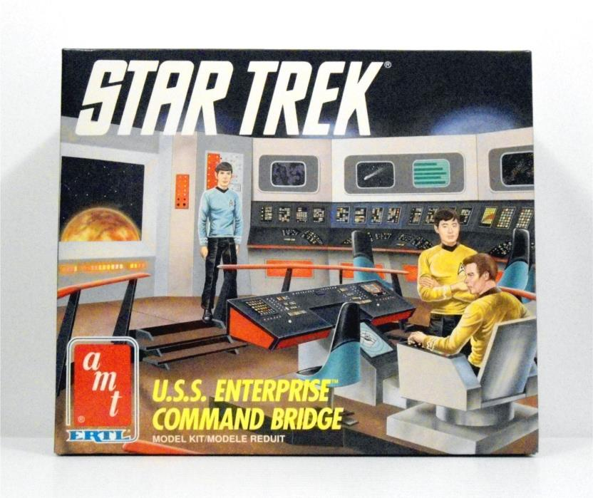 Star Trek USS Enterprise Command Bridge Model Kit #6007