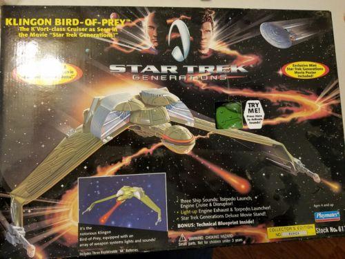 Klingon Bird-of-Prey Star Trek Generations new