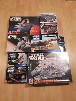 Star Wars Model Kits Lot *NEW*