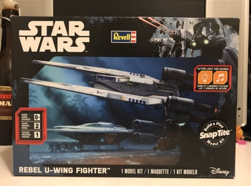 Revell SnapTite Build & Play Rebel U-wing Fighter Building Kit !!!