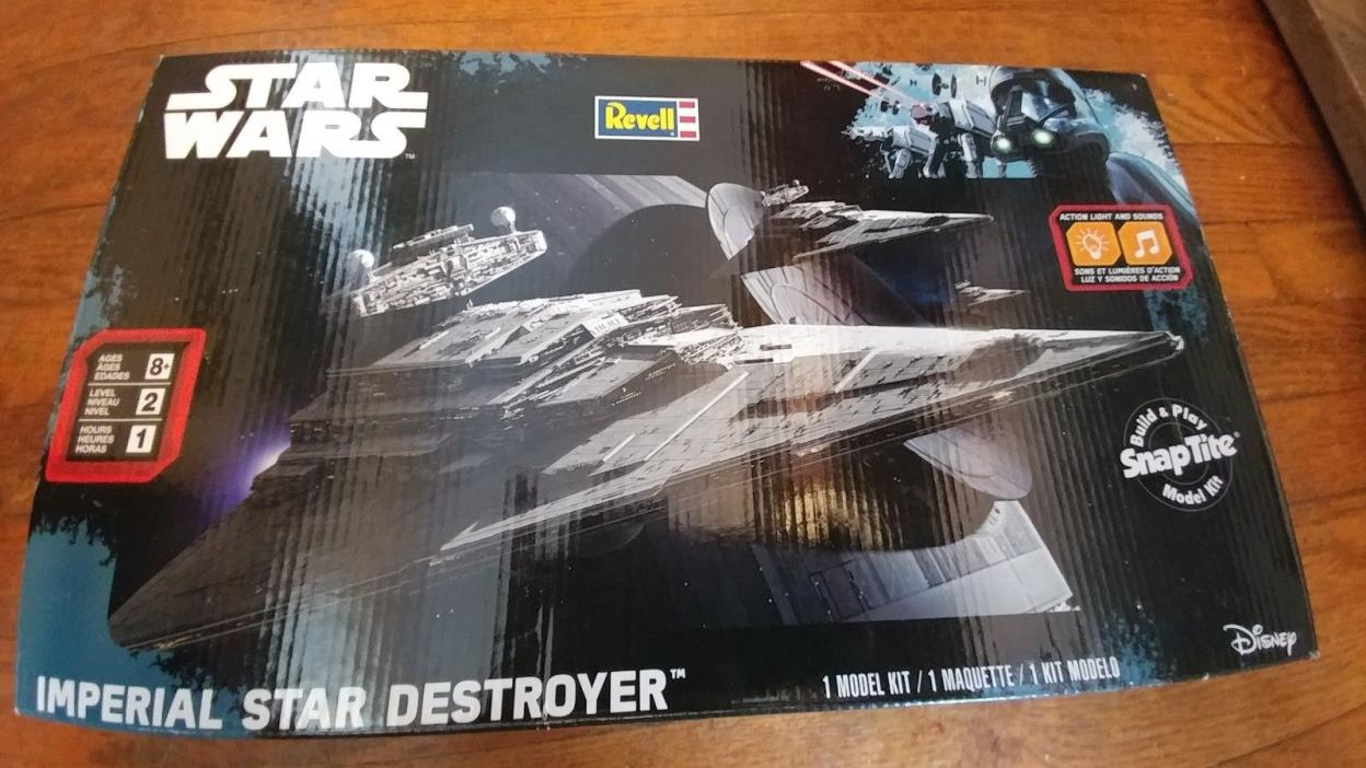 BRAND NEW Star Wars Imperial Destroyer Model Kit