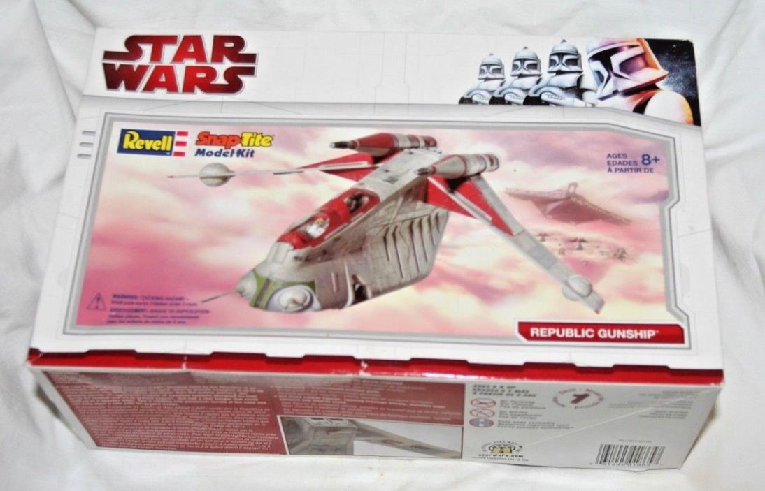 Revell Star Wars Snap Tite Model Kit Republic Gunship