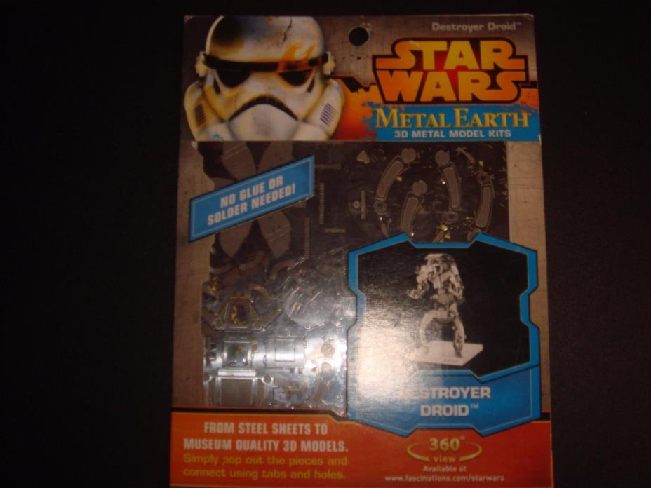 Metal earth 3D Star Wars Destoyer Droid