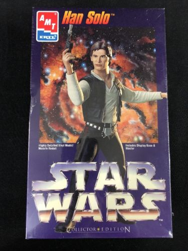 Ertl AMT Star Wars Han Solo Model Kit 1995 Collector Edition 8785