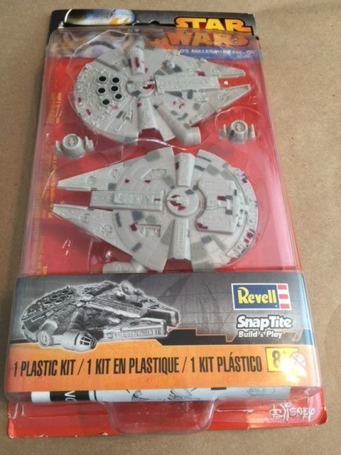 Revell-Monogram Han Solo's Millennium Falcon Kit - Opened Package