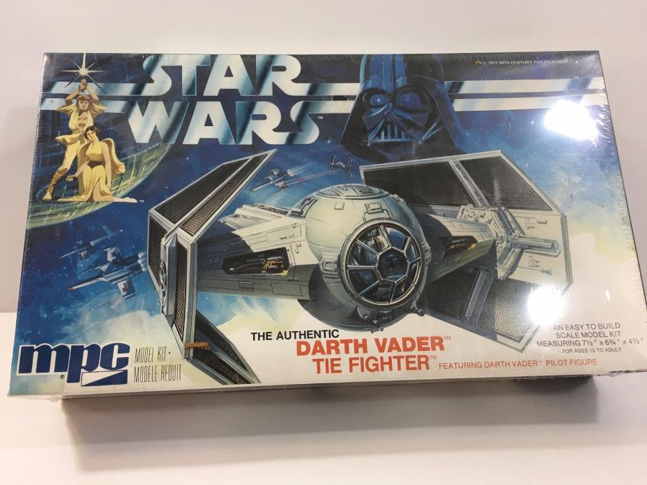 Star Wars Darth Vader TIE Fighter Model Kit (1978, by MPC)