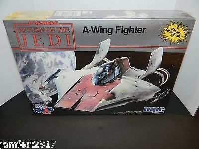 Vintage Star Wars Return of the Jedi A-Wing Fighter model kit New Sealed by MPC
