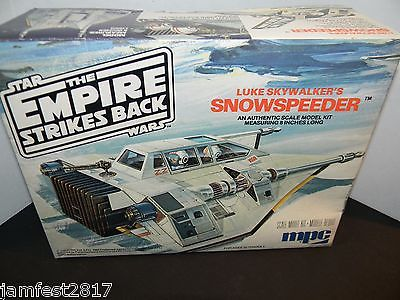 Vintage Star Wars LUKE SKYWALKER'S SNOWSPEEDER Brand New The Empire Strikes Back