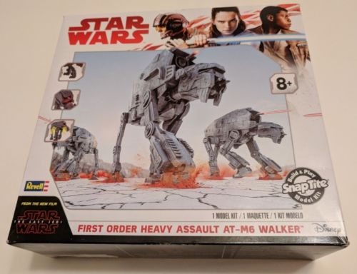Revell Star Wars First Order Heavy Assault AT-M6 Walker snap model kit new 1649