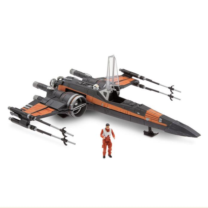 NEW POE DAMERON and  X-WING FIGHTER SET 9