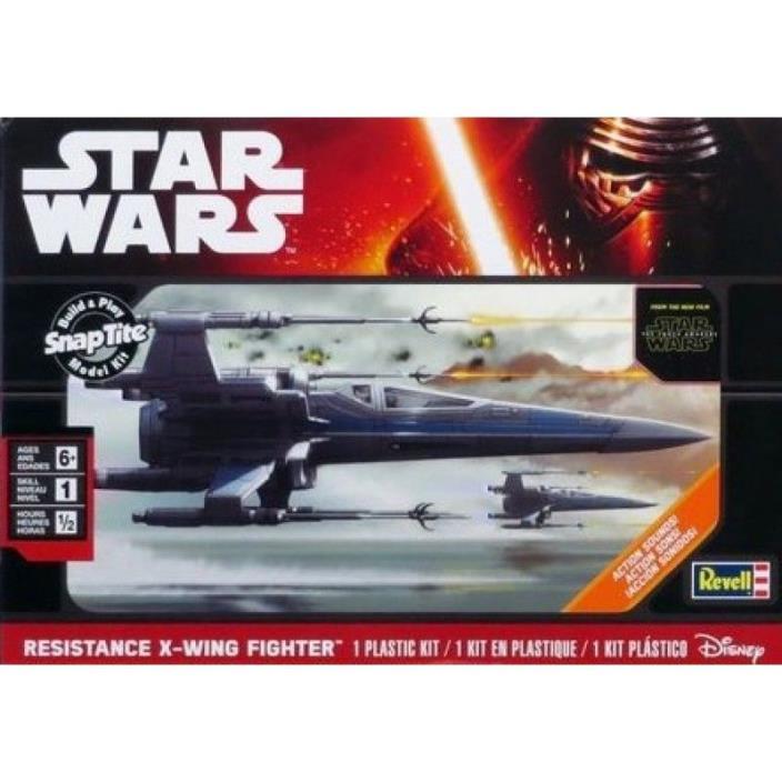 Star Wars Resistance X-Wing Fighter Model Kit Revell Disney Force Awakens