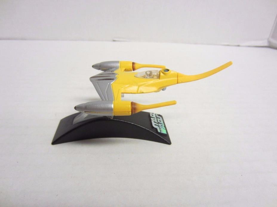 Naboo Starfighter Yellow Titanium Series Die Cast Star Wars