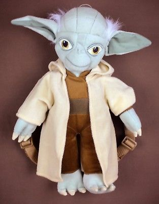 Star Wars * Yoda plush backback * 16