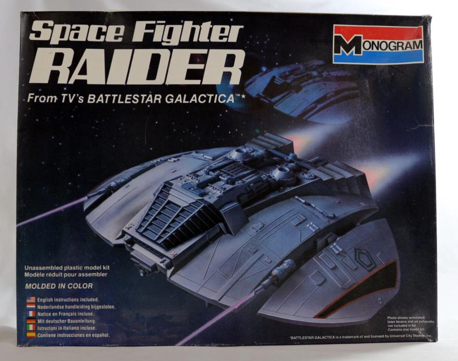 MONOGRAM SPACE FIGHTER RAIDER 1/48 SCALE MINT FROM