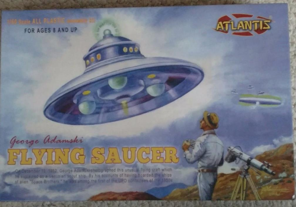 Atlantis 1/60 scale George Adamski Flying Saucer Model Kit new