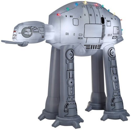 Star Wars Disney AT AT giant airblown inflatable 9 ft NIB Gemmy AT-AT (Last One)