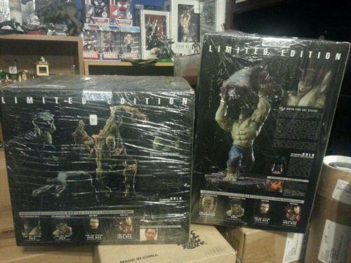 Kotobukiya The Incredible Hulk & Abomination Limited Fine Art Statue set ?New?