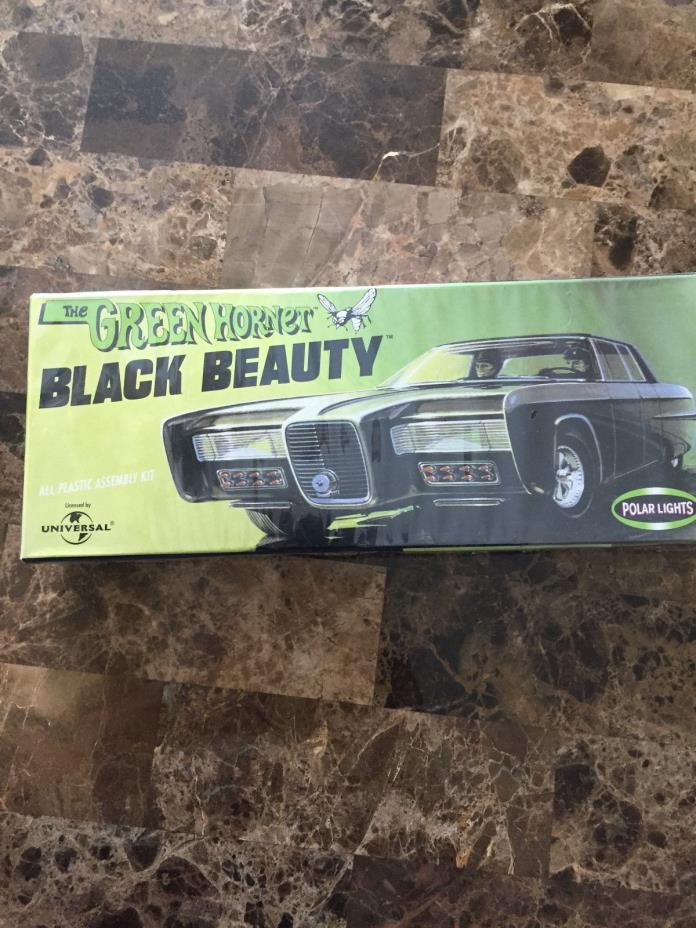Polar Lights Green Hornet BLACK BEAUTY Model Kit MISB NEW
