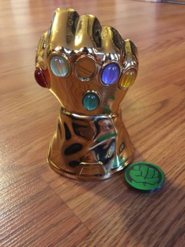 Marvel Infinity Gauntlet Grin Studios Dig It Stones Gems Rare HTF Thanos Movie