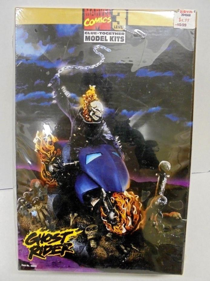 GHOST RIDER Marvel Comics Level 3 Model Kit FACTORY SEALED Advanced Age 10+